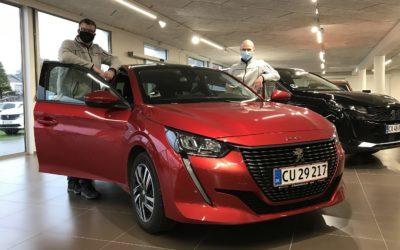 Danmarks mest solgte biler
