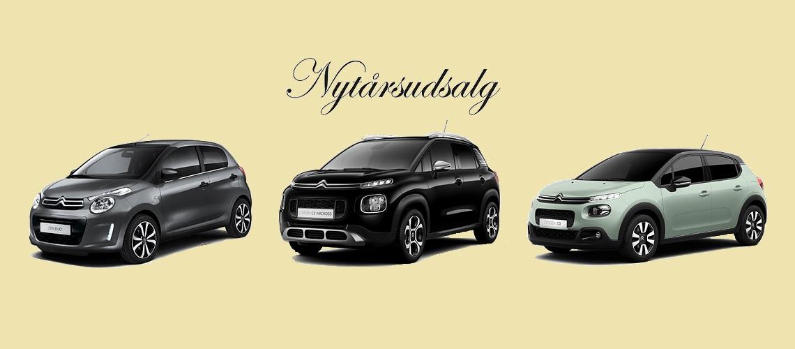 Citroën Nytårsudsalg
